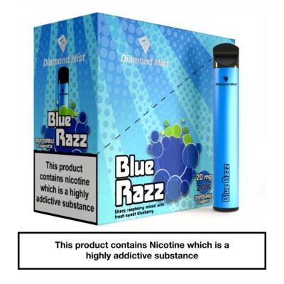 Diamond Mist Bar Blue Razz 20mg_x5