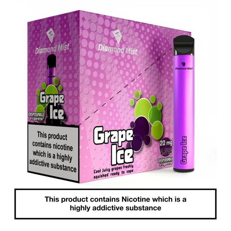 Diamond Mist Bar Grape Ice 20mg_x5