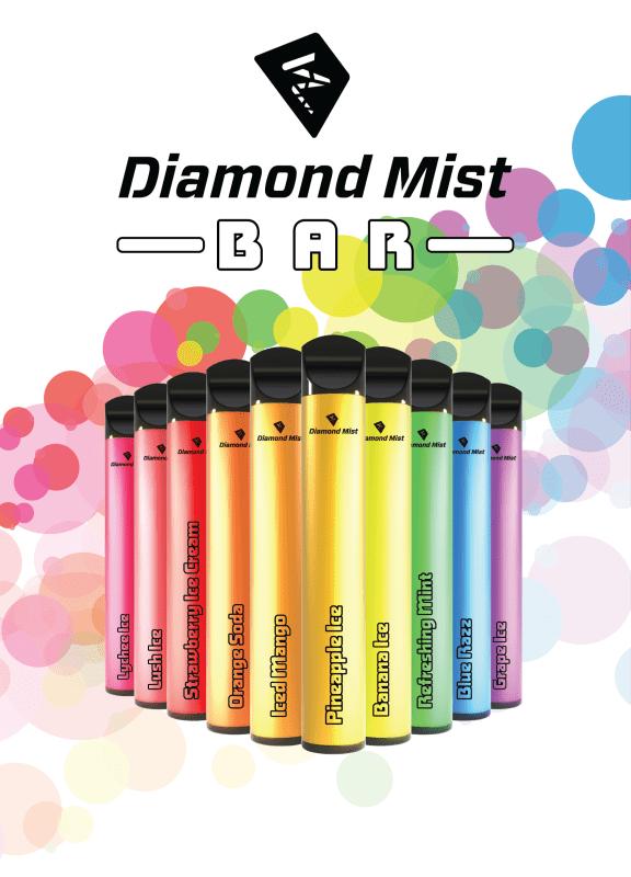 Diamond Mist Bar only at Vapeaholic UK